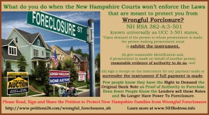 Wrongfull Foreclosure 1
