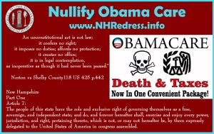 Death Taxes Obama Care